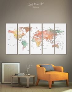 Custom Corkboard World Map Push Pin World Map Wall Art Watercolor World Map Canvas Push Pin Travel Map Of the World Map Print Travel Map Pin Watercolor World Map, Watercolor Images, World Map Canvas, World Map Wall Art, Push Pin World Map, Canvas Wall Art, Canvas Prints, Office Wall Decor, Modern Wall