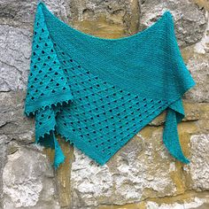 Childhood memories shawl