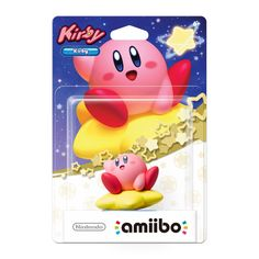Round, pink and surprisingly powerful, Kirby™ is one of the most iconic heroes in video game history. A denizen of the peaceful planet Pop Star, Kirby became a citizen of Dream Land after defeating King Dedede. He can inhale things with his big mouth, either copying their abilities or spitting them out again. What are amiibo?amiibo are fun, high-quality Near Field Communication (NFC) figures to collect that also unlock special in-game extras for Nintendo Wii U and 3DS games. Your amiibo can…