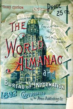 The World Almanac 1892
