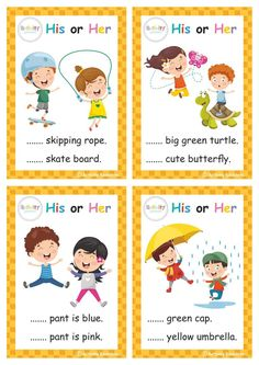 English Activities For Kids, Educational Activities For Preschoolers, English Grammar For Kids, English Worksheets For Kindergarten, Learning English For Kids, Teaching English Grammar, English Lessons For Kids, Kids Math Worksheets, Kids English