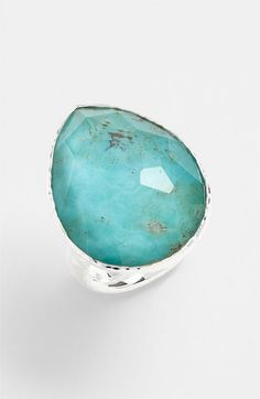 Ippolita 'Grotto' Large Teardrop Ring available at #Nordstrom