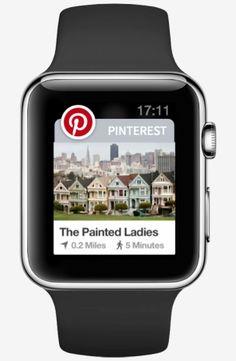Pinterest & Apple Watch via techcrunch https://itunes.apple.com/us/app/pinterest/id429047995?mt=8 #Pinterest #Apple_Watch