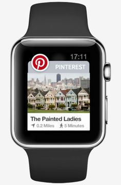 Pinterest & Apple Watch via techcrunch https://itunes.apple.com/us/app/pinterest/id429047995?mt=8 #Pinterest #Apple_Watch