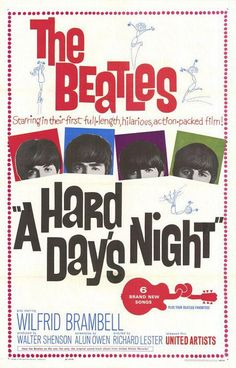 Nancy• thanks thanks thanks - wow - fantastic photo - i like - i love the beatles - pin very very nice - thanks - i want   A Hard Days Night, 1964