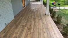 Good Pictures Fireplace Remodel videos Concepts – Rebel Without Applause Tile Patio Floor, Porch Tile, Porch Flooring, Outdoor Flooring, Stone Flooring, Wood Patio, Pergola Patio, Backyard Patio, Acid Stained Concrete Patio