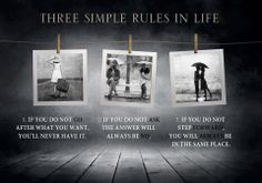 Simple rules...