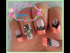 + 50 diseños de uñas atrapasueños increibles que debes conocer y hacerte hoy en mismo en tus uñas, Aprende hacerlas facilmente con nuestro tutorial Fall Acrylic Nails, Print Tattoos, Manicure, Nail Art, Beauty, Youtube, Finger Nails, Pretty Toe Nails, Pretty Gel Nails
