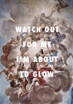 "flyartproductions:  "" The glow got the Medici feeling gun-proof  Triumph of the Medici in the Clouds of Mount Olympus (1686), Luca Giordano / Glow, Drake ft. Kanye West  """