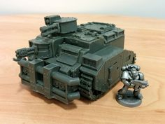 A review of the Rhebok Transport Vehicle from Ramshackle Games, a 28mm scale tank compatible with wargames including Nuclear Renaissance and Warhammer 40k.