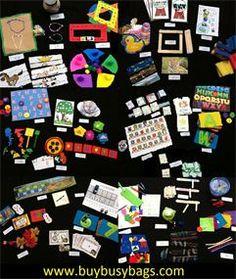 busy bag activities, busy bag swap, busy bag ideas