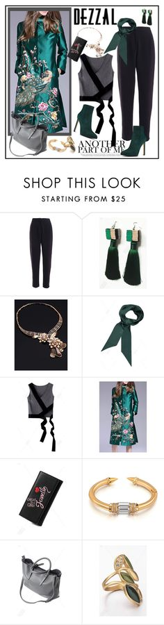 """SPECIAL FASHION CHALLENGE: Style given DEZZAL items"" by carola-corana ❤ liked on Polyvore featuring POL and Nine West"
