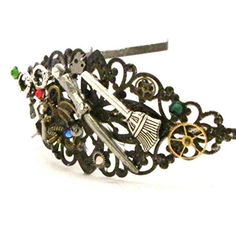 Harry Potter Headband Steampunk Hair Jewelry Magical Beasts >>> You can find out more details at the link of the image.