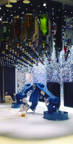 Harmony of the Seas | Ever been served a drink by a robotic bartender? Now you can. Experience technology like never before, only on Royal Caribbean.