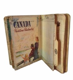 Canada Travel Journal, British Columbia Travel Journal, Canada Trip Log, Canada Adventure Journal by Dorothyjane, $38.00 USD