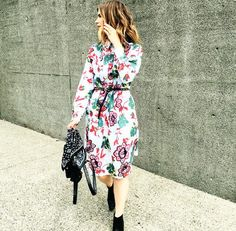 Bauh Designs #streetstyle #style #streetfashion #fashion #outfit #floral