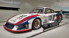 """Fastest on the Straight in 1978 LeMans (228mph) - """"Moby Dick"""" - Porsche 935/78 [5248x2952]"""