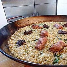 L'arròs del Cruix //Instagram Picbear Barcelona Food, Paella, Ethnic Recipes, Instagram, Kitchens