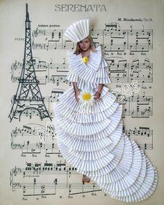 Mauriquices: Uma noiva em Paris!
