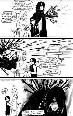 Thats what you get for being gone pt 2 END Uchiha Family Sasusaku #Naruto