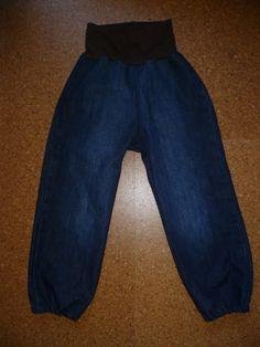 babyhose frida aus papas alter jeans upcyclingapril2013. Black Bedroom Furniture Sets. Home Design Ideas