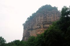Пшеничная гора в провинции Ганьсу