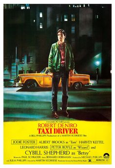 Robert De Niro Taxi Driver Home Theater Decor by jangoArts, $19.50