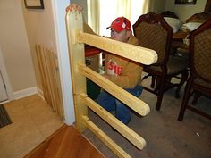 Swing Arm Wall Mounted Quilt Rack