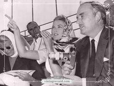 Grace Kelly Hermes Scalf - Vintage eCard