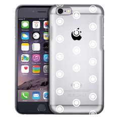 Apple iPhone 6 Round White Dots Case