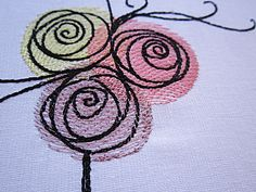 Bouquet of roses free embroidery design - Flowers free machine embroidery designs - Machine embroidery community