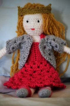Easy Crochet Doll Free Pattern
