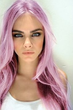 Leave the hair keep the makeup.....Love Cara.