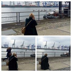 Photobomb als Photostory  #dearhamburg #elbe #friends #goodtimes #Hamburg #hh #instadaily #instainspo #instamood #möwe #neumuehlen #photobomb #photooftheday #sunday