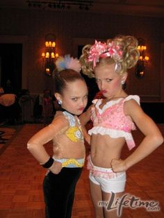 Dance Moms Maddie and Paige