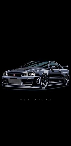 Nissan Nismo- … - Everything About Japonic Cars 2020 Nissan Skyline, Nissan Gtr Skyline, Nissan Gtr R34, Jdm Wallpaper, Car Wallpapers, Drake Wallpapers, Street Racing Cars, Tuner Cars, Car Illustration
