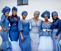 Shades of indigo African Attire, African Wear, African Women, African Dress, African Beauty, African Lace, African Style, African Inspired Fashion, African Print Fashion