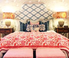 #Boho #bedroom  Because It's Awesome: Monday Blues // Jamie Meares