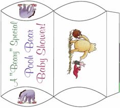 Pooh Shower Favor Favor Box