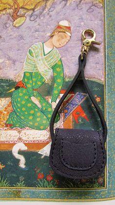 Indigo Mini Gigi, Chiaroscuro, India, Pure Leather, Handbag, Bag, Workshop Made, Leather, Bags, Handmade, Artisanal, Leather Work, Leather Workshop, Fashion, Women's Fashion, Women's Accessories, Accessories, Handcrafted, Made In India, Chiaroscuro Bags - 1