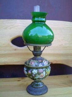 lampa naftowa ceramika porcelana okazja unikat Tarnowskie Góry - image 1