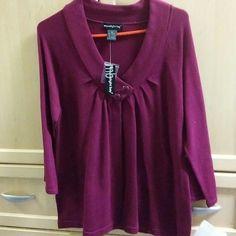 Dark pink fuschia knit cardigan Fashion cardigan never worn moonlight bay Sweaters Cardigans