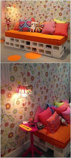 Ideas to Decorate with Concrete Blocks / Ideas para utilizar los bloques de concreto | Diseño de Interiores