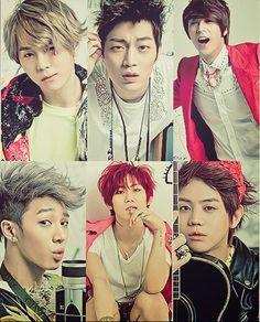 Junhyung, Doojoon, Dongwoon, Kikwang, Hyunseung & Yoseob <3 // Beast<3 B2ST