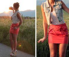 want a jean vest!