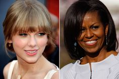 Michelle Obama entrega prémio a Taylor Swift