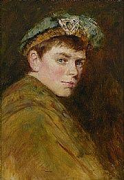 Portrait of a Young Man in Fancy Dress, c. by Frederick McCubbin (Australian, Australian Painters, Artist Painting, Young Man, Art School, Impressionism, Fancy Dress, Lord, Portraits, Paintings