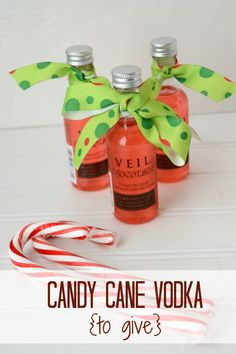 Candy Cane Infused Vodka by www.crazyforcrust.com