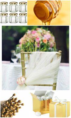 Ideas for Decorating Wedding Chairs — gold wedding receptions Wedding Chair Decorations, Wedding Chairs, Wedding Table, Decoration Party, Wedding Ceremony, Easy Decorations, Banquet Decorations, Mod Wedding, Elegant Wedding