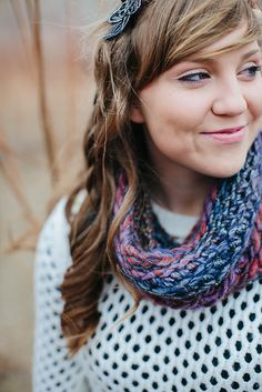 Ravelry: Back Loop Beginner Cowl pattern by The Firefly Hook